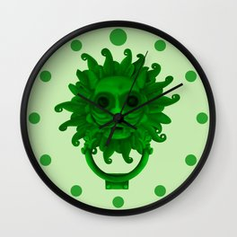 Sanctuary Knocker Wall Clock
