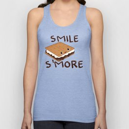 Smile S'more Unisex Tank Top