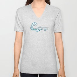 waves mother ocean Unisex V-Neck