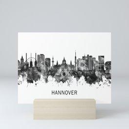 Hanover Germany Skyline BW Mini Art Print