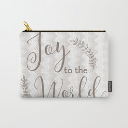 joy to the world - chevrons Carry-All Pouch