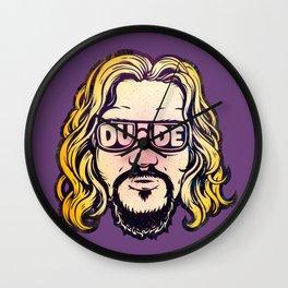 Dude Wall Clock