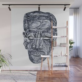 "«20120117» or ""Anywhere Face"" Wall Mural"