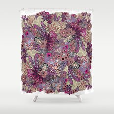 Vernal rising Shower Curtain