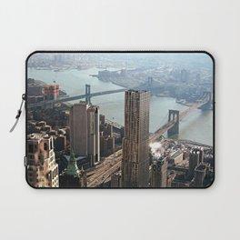 Vintage New City Laptop Sleeve