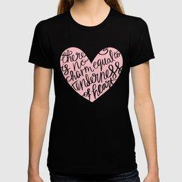 Jane Austen Emma Tenderness Heart T-shirt