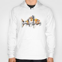 study Hoodies featuring Koi Study by Ken Coleman
