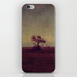 tree landscape iPhone Skin