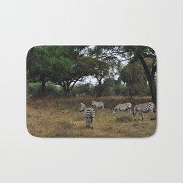 Zebras. Bath Mat