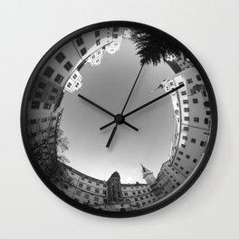 Schloss Hartenfels SW 8mm Rundblick Wall Clock