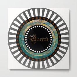 Barrett Custom Design Metal Print