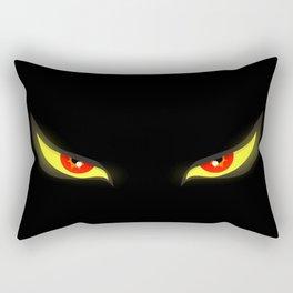 Evil Eyes Rectangular Pillow