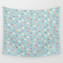 Shell Collection Wall Tapestry