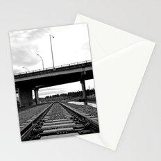 Nalley train tracks Stationery Cards