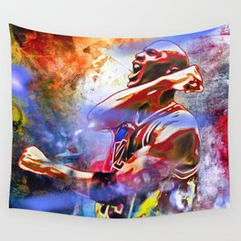 M. Jordan Painted Wall Tapestry