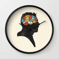 Shaun Phrenology Wall Clock