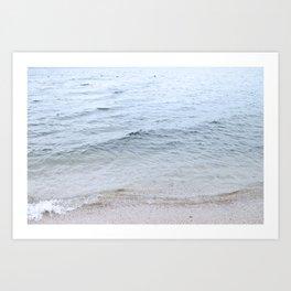 Lake Biwa Art Print