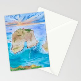 Raouche Rock Stationery Cards