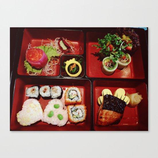 Cute Bento Canvas Print