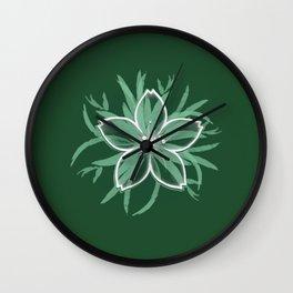Happy flower Wall Clock