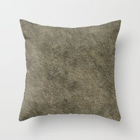 concrete Throw Pillows featuring Concrete by Texture