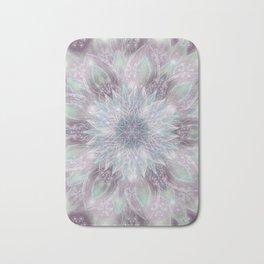 Lavender swirl pattern Bath Mat