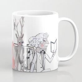 Elwood's Uncomfortable Stare Coffee Mug