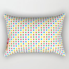 Mini Adams Chiclets Rectangular Pillow