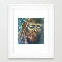 christ Framed Art Prints featuring Christ by osile ignacio