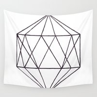 prism Wall Tapestries featuring Prism by Bridget Davidson