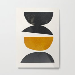 abstract minimal 23 Metal Print