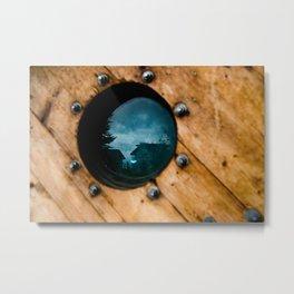 Porthole Views Metal Print