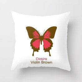 Ulysses Butterfly 8 Throw Pillow