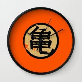Goku Kame kanji Dragon Vegeta Wall Clock