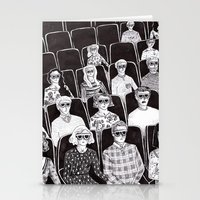 movies Stationery Cards featuring The movies by Margarida Esteves