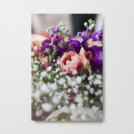Fresh Flower Lovin' Metal Print