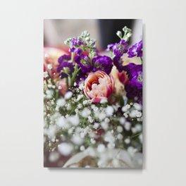 Fresh Flower Lovin' Metal Print