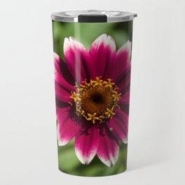 Flower Portait - Flower Power Travel Mug