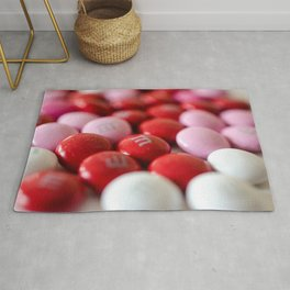 Valentine's Day Red & Pink Candy Rug