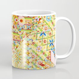 Sunshine Crazy Quilt (printed) Coffee Mug