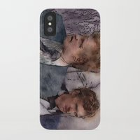 true detective iPhone & iPod Cases featuring True Detective by rcknroby