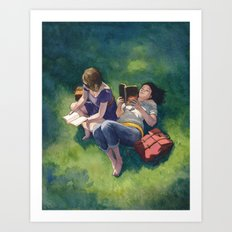 Sunday Afternoons Art Print