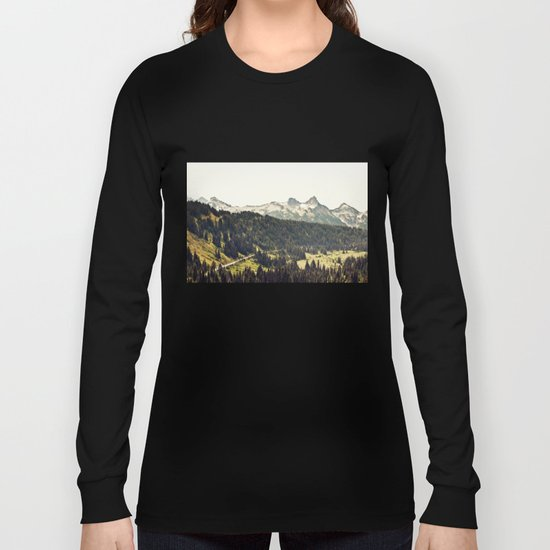Epic Drive through the Mountains Long Sleeve T-shirt