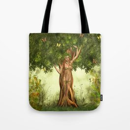 Mother Nature Tree Tote Bag