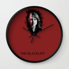The Blacklist Wall Clock