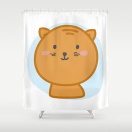 moew *i can customize your cat Shower Curtain