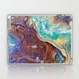 Copper Love Geode Laptop & iPad Skin