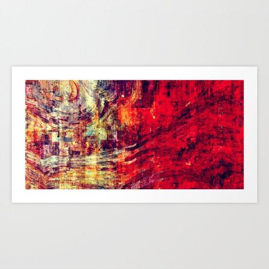 Cia cube Art Print