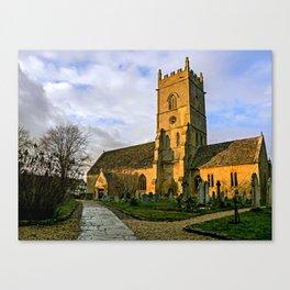 Beckford Church Canvas Print