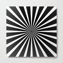 Reverse Your Mind Metal Print